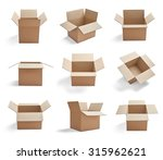 collection of  various... | Shutterstock . vector #315962621