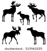 Moose Royalty Free Cliparts, Vectors, And Stock Illustration ...
