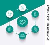leasing  banking  loan  lending ... | Shutterstock .eps vector #315973625