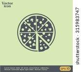 vector illustration of icon for ... | Shutterstock .eps vector #315983747