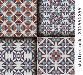 vector seamless pattern set... | Shutterstock .eps vector #315995399