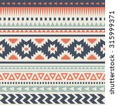 Seamless Ethnic Pattern Design...