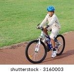 boy on bike | Shutterstock . vector #3160003