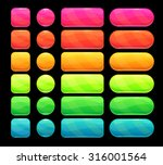 bright spectrum buttons set ...