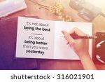 inspirational motivating quote...   Shutterstock . vector #316021901