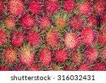 Rambutan Sweet Delicious Fruit...
