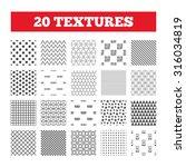 seamless patterns. endless... | Shutterstock .eps vector #316034819