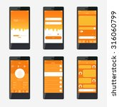 template mobile application...