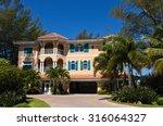A Large Beach House With...