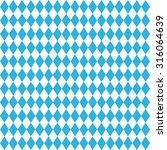 oktoberfest blue rhombus... | Shutterstock .eps vector #316064639