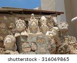 sculpted bust near church of st ...   Shutterstock . vector #316069865