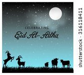 muslim community festival eid... | Shutterstock .eps vector #316118411