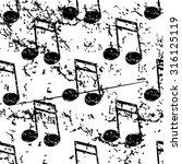 sixteenth note pattern  grunge  ...