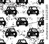 car pattern  grunge  black...