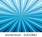 blue ray background | Shutterstock . vector #31612861