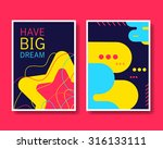 vector colorful design abstract ... | Shutterstock .eps vector #316133111