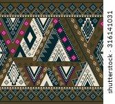 ethnic geometrical pattern ... | Shutterstock .eps vector #316141031