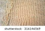 transparent water ripple  sand...   Shutterstock . vector #316146569