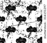thunderbolt pattern  grunge ...