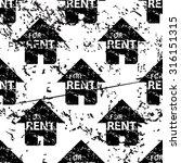 rental house pattern  grunge ...
