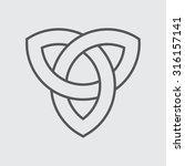 celtic knot | Shutterstock .eps vector #316157141