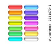 vector web buttons set | Shutterstock .eps vector #316167041