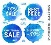 vector christmas sale  best...   Shutterstock .eps vector #316184501