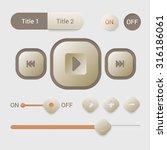 player interface design element ...
