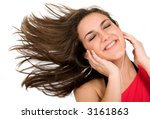 music for your ears   happy... | Shutterstock . vector #3161863
