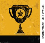 trophy concept design  yellow...