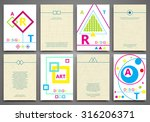 abstract composition  business...   Shutterstock .eps vector #316206371