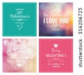 set of backgrounds with text... | Shutterstock .eps vector #316206725