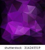 purple polygonal mosaic...