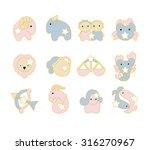 cute zodiac design. | Shutterstock .eps vector #316270967