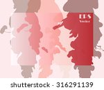 stylish background texture for... | Shutterstock .eps vector #316291139