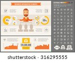 business infographic template... | Shutterstock .eps vector #316295555