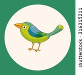 bird cartoon theme elements...   Shutterstock .eps vector #316315211