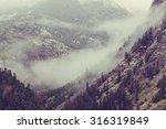 Late Autumn Season In Mountain...