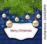 illustration holiday greeting... | Shutterstock .eps vector #316323845