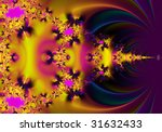 Pink And Yellow Abstract...