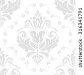 oriental vector classic pattern.... | Shutterstock .eps vector #316341791