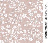 seamless floral pattern | Shutterstock .eps vector #316343714