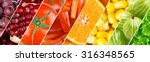 color fruits  berries and... | Shutterstock . vector #316348565