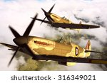 Render Of A Ww2 Supermarine...