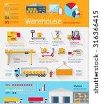 concept infographics equipment... | Shutterstock .eps vector #316366415