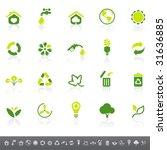 environmental icons | Shutterstock .eps vector #31636885