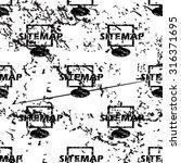 sitemap pattern  grunge  black...