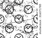 clock pattern  grunge  black...