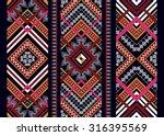 geometric ethnic pattern... | Shutterstock .eps vector #316395569