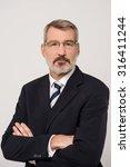 successful businessman  tiny... | Shutterstock . vector #316411244